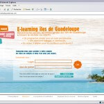 ONT Guadeloupe e-learning page_connexion1