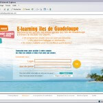 ONT Guadeloupe e-learning page_connexion2